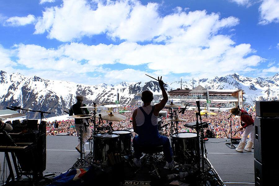 Concert de fermeture 2016 avec le concert de MUSE Top of the Mountain