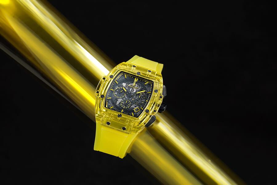 Brillante et lumineuse Spirit of Big Bang Yellow Sapphire
