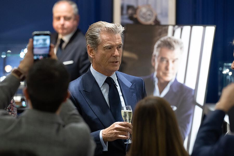 Ex James Bond Pierce Brosnan invité par Speake Marin (c)RaphaelFaux