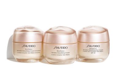 Benefiance la gamme des nouvelles crèmes de soins Shiseido