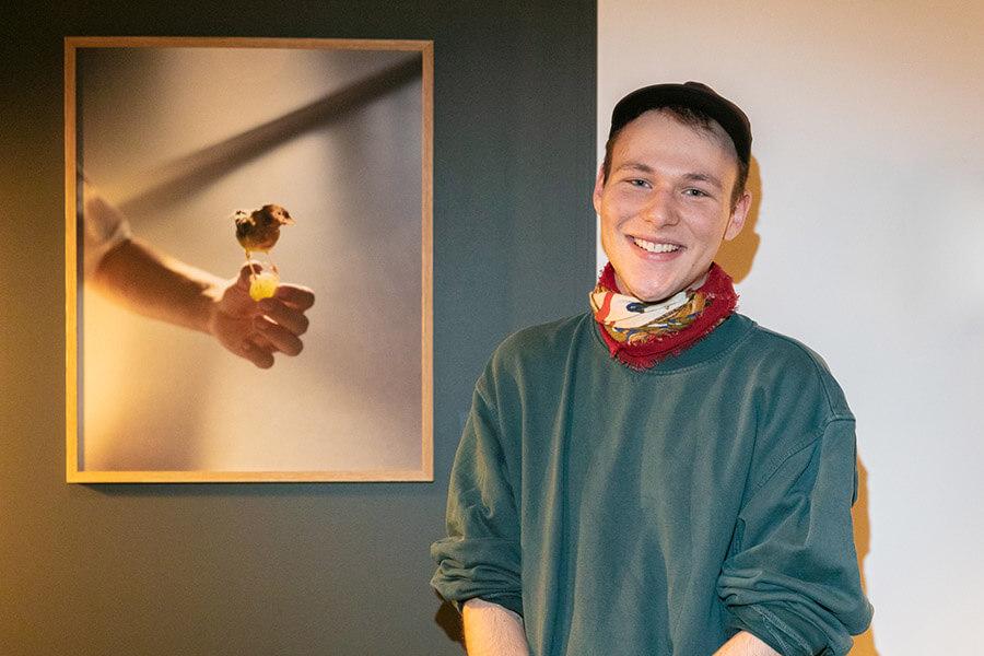 Simon Lehner le jeune photographe primé