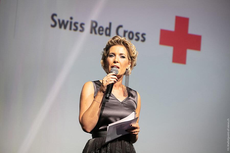 Mélanie Freymond présentatrice du Bal