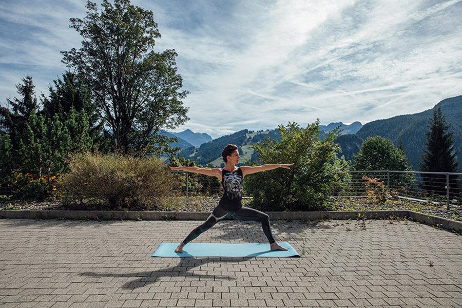 Des retraites de yoga peuvent être organisées à l'Hôtel Sun&Soul Panorama Solsana
