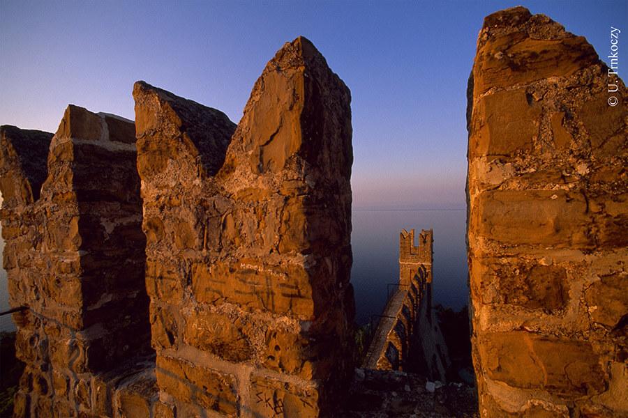 Les murailles de Piran