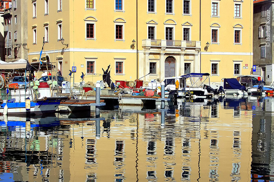Piran le Palais Trevesini