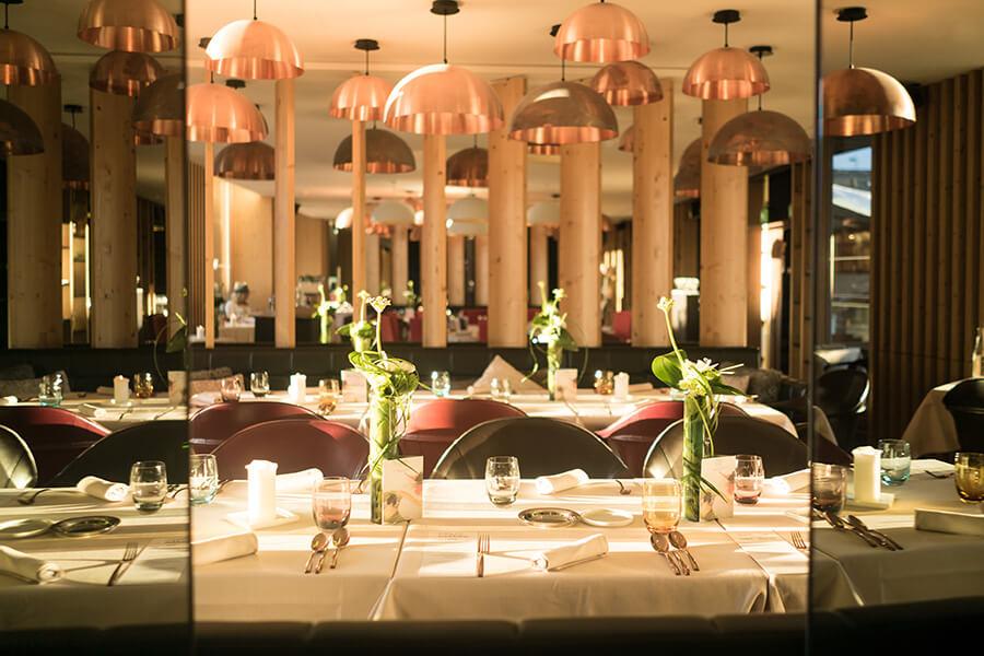 Panorama sur le restaurant (c) CHARLOTTE PERCLE