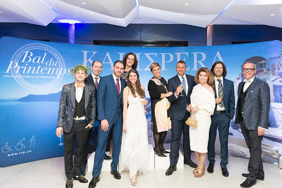 Pablo Pizzaro D.G du Président Wilson avec Shania Twain et ses invités