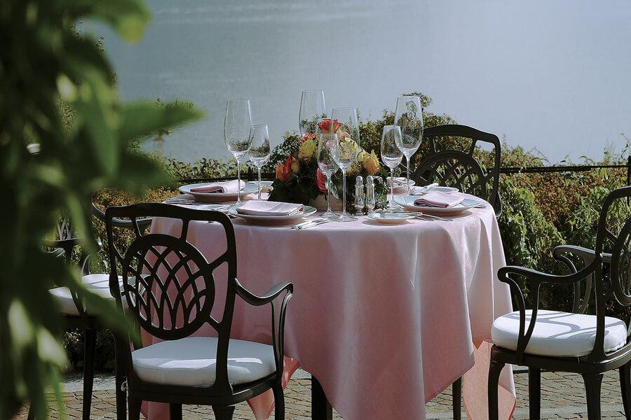 A Lugano l'exceptionnelle table de la Villa Principe Leopoldo