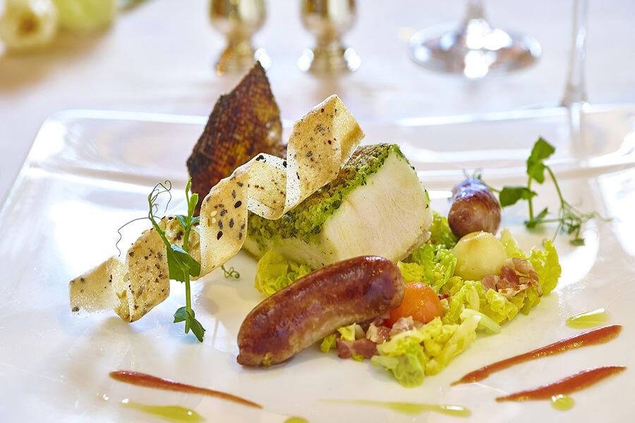 Tradition et tendances signature des restaurant de la Villa Principe Leopoldo