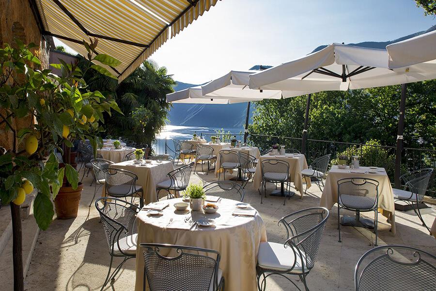 Jadis maison historique la Villa Principe Leopoldo est une des meilleures tables du Tessin