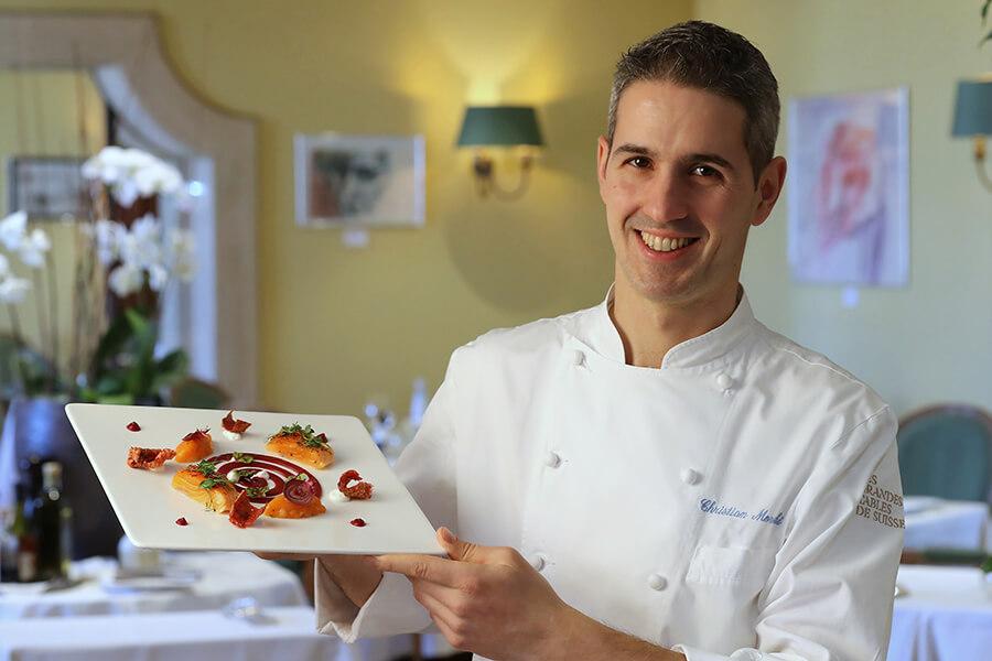 Cristian Moreschi Executif Chef Villa Principe Leopoldo