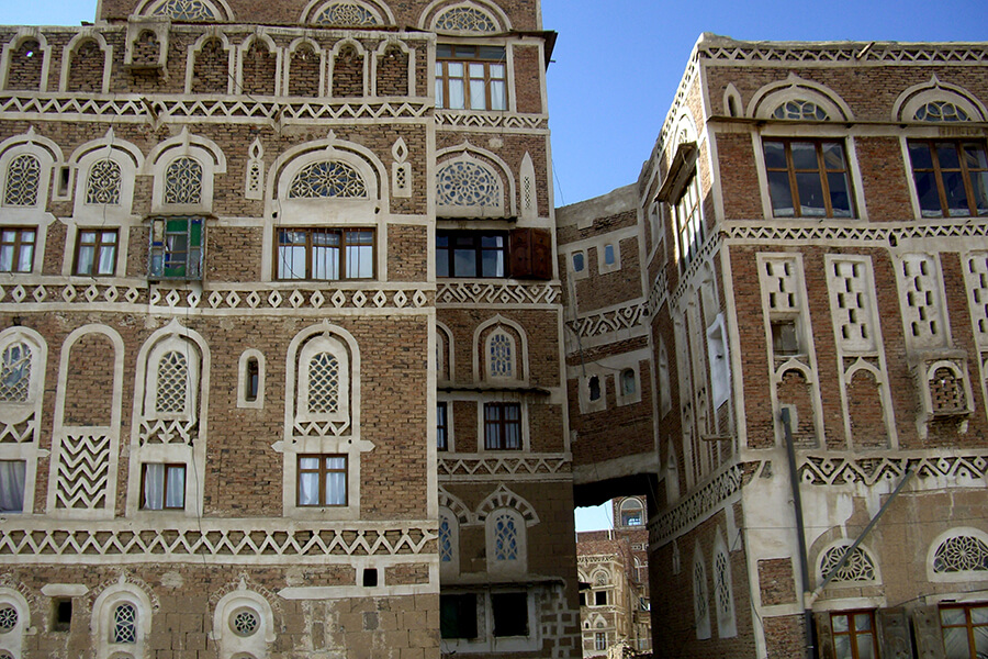 Dans les rues de Sanaa (c) G.A.-D