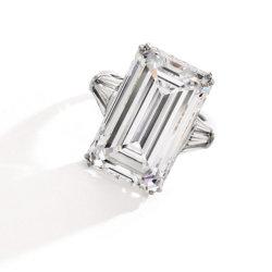 Bague en diamant de Harry Winston 18.86 carats