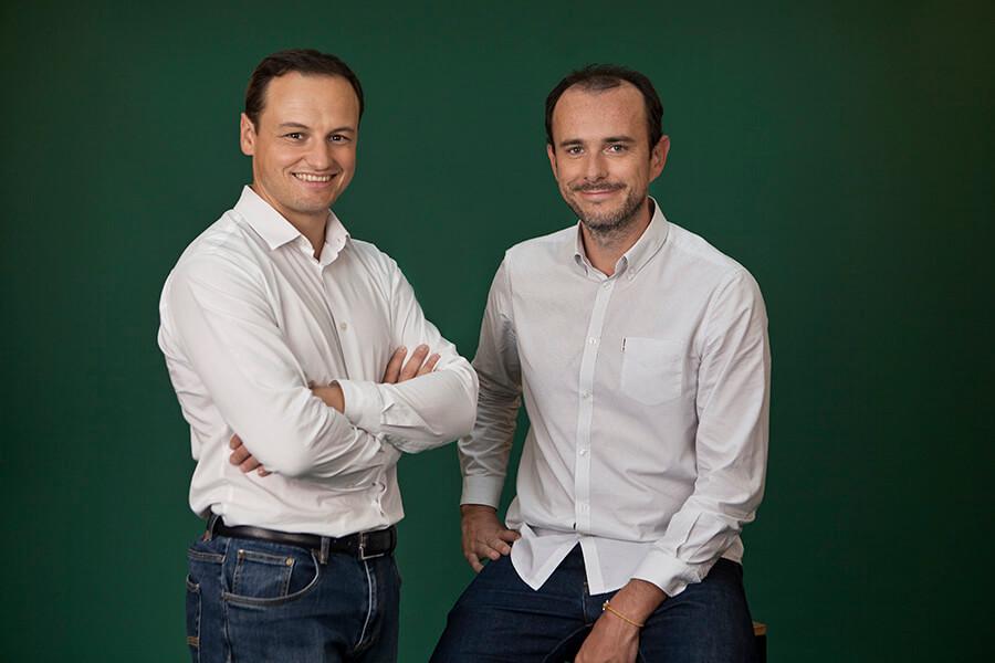 Les Co-fondateurs d'Evaneos Yvan Wibaux et Éric La Bonnardière (c) Elodie Daguin
