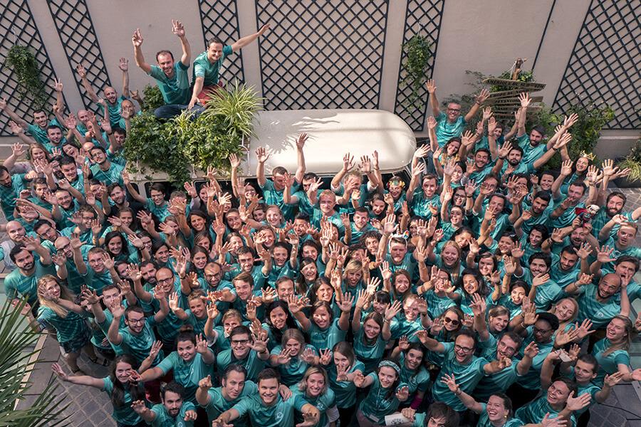 Team Evaneos des collaborateurs jeunes et motivés