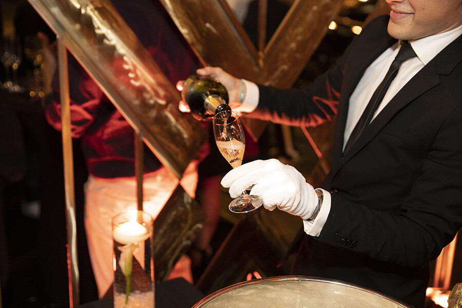 Ulysse Nardin soirée lancement de la boutique le champagne a coulé à flots