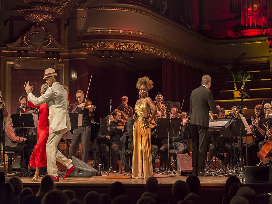 SigaVolando avec l'Orchestre de Chambre de Genève