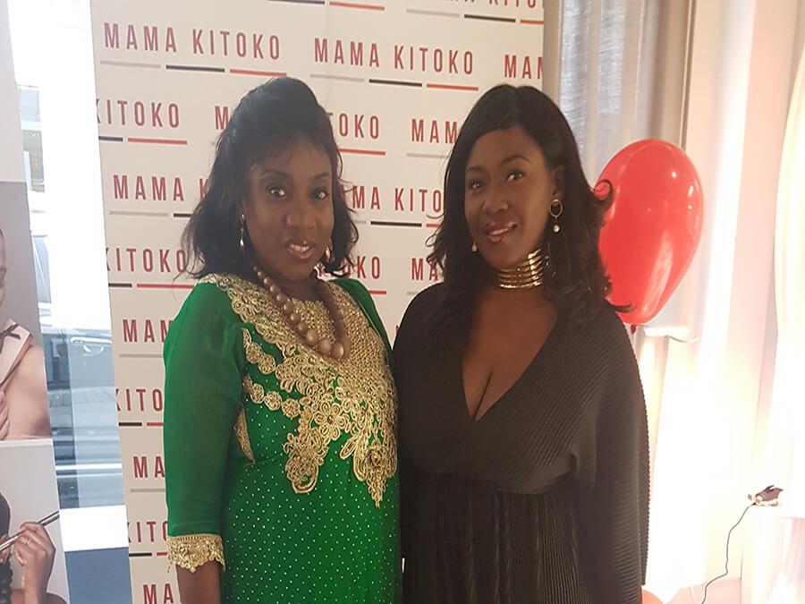Annie-Michèle Dinga-Ote PR et média relations avec la fondatrice Corinne Kamdem