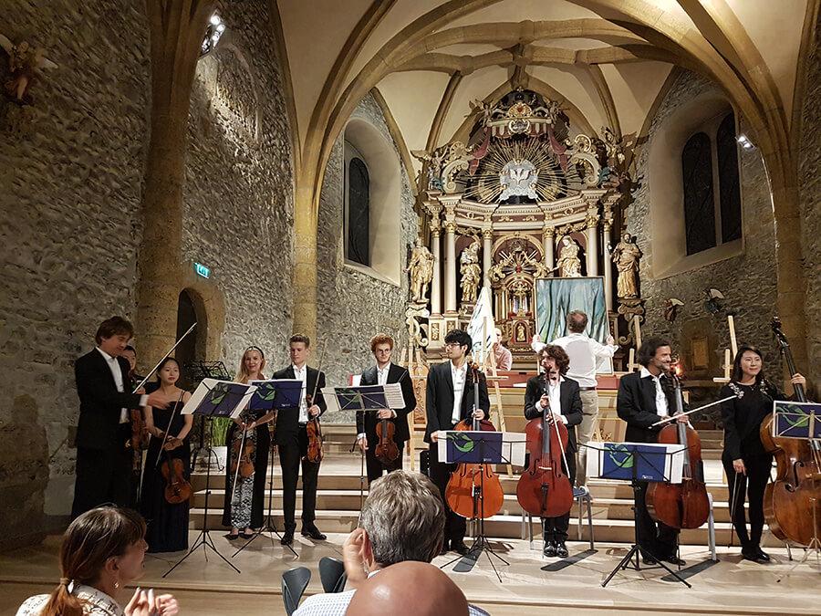 Concert sérénade avec l'Académie musicale internationale Menuhin