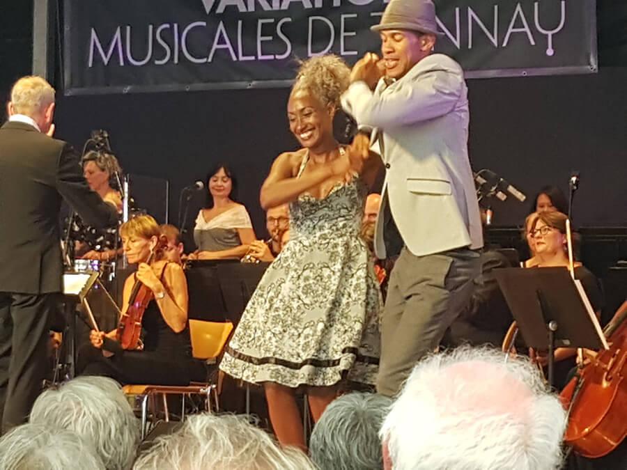 Liudmilla et Mijail les danseurs de Siga Volando