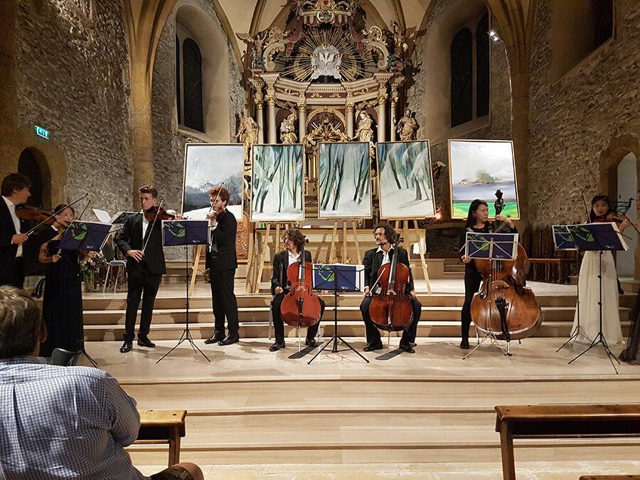 Orchestre à cordes de l'Académie musicale internationale Menuhin