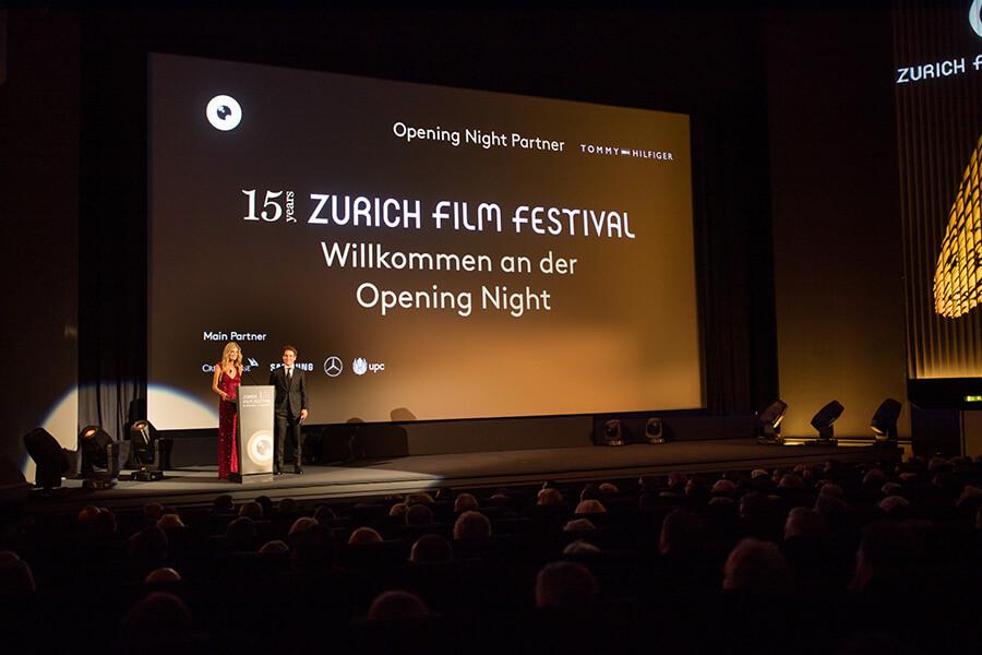 Ouverture du Film Festival Zurich avec les fondateurs Nadja Schildknecht et Karl Spoerri