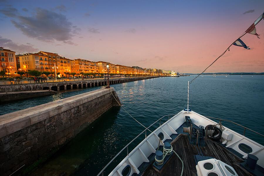 Bahia Santander cité portuaire et marchande (c) Manuel Alvarez