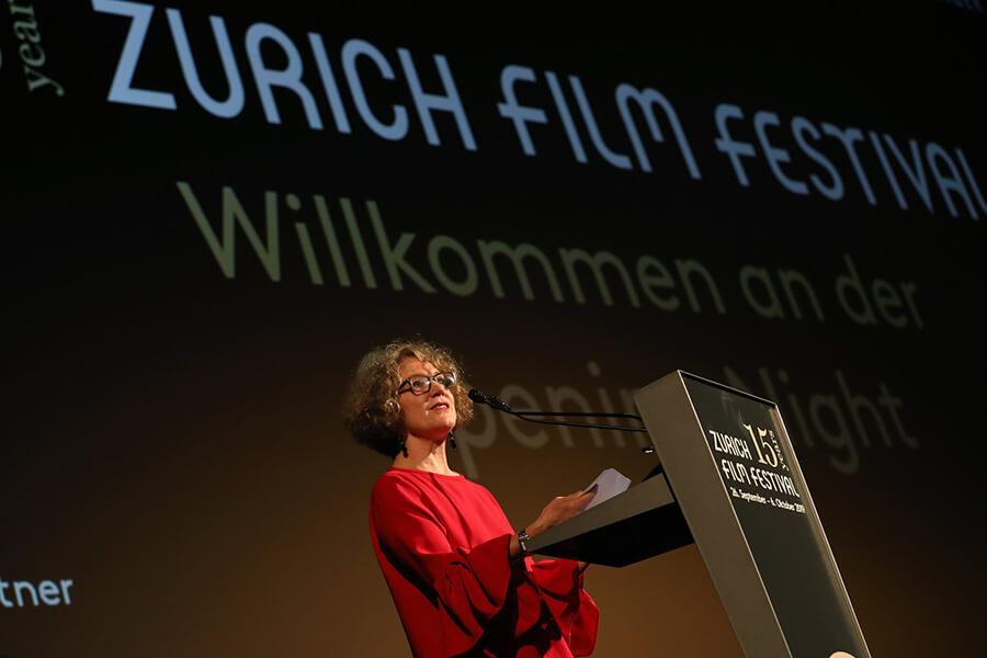 La Présidente de la Ville de Zurich Corine Mauch discours d'ouverture du ZFF
