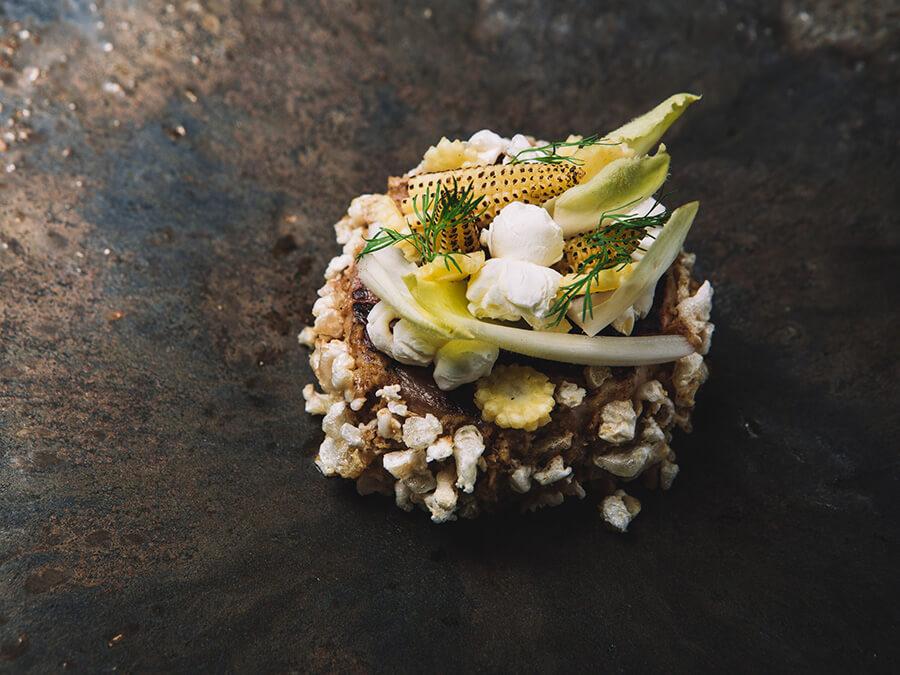 Un plat signature de Francesco Ibba Chef italien de la Bottega © Alex Teuscher - .jpg