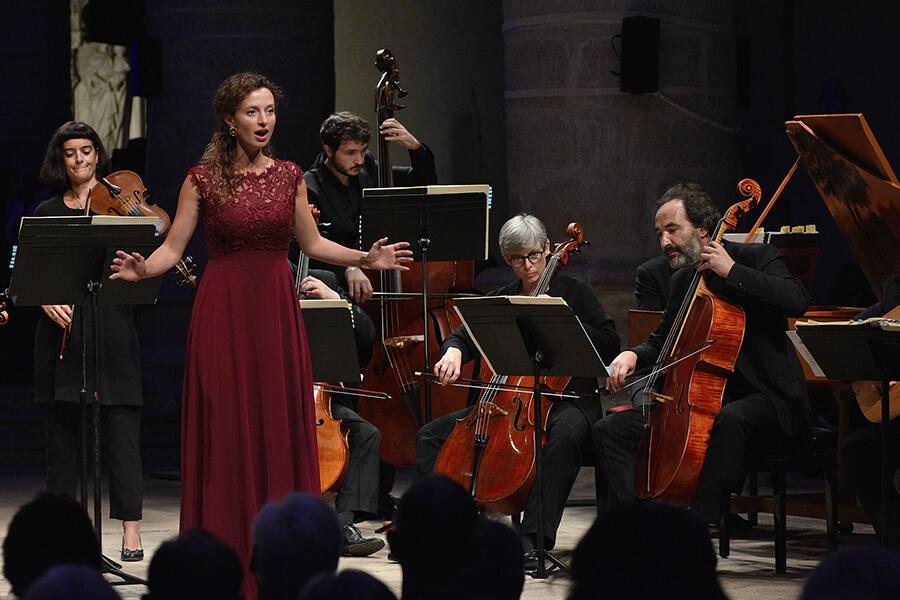 Soliste Soprano Academie PhilippeJarousskyBach-Vivaldi ©Bertrand Pichene -CCR_Ambronay