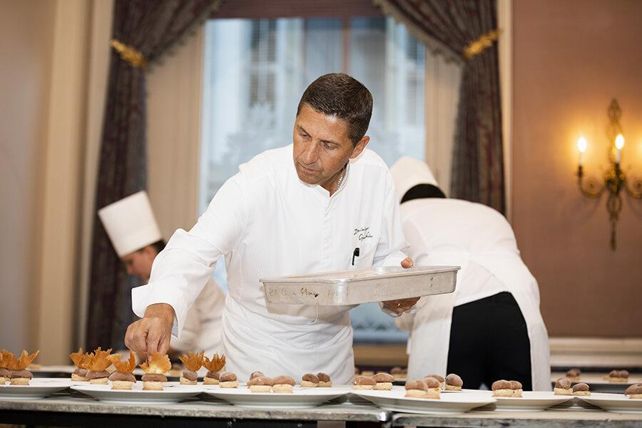 Dominique Gauthier Chef étoilé résident Beau-Rivage Genève (c) KADI TCS2019