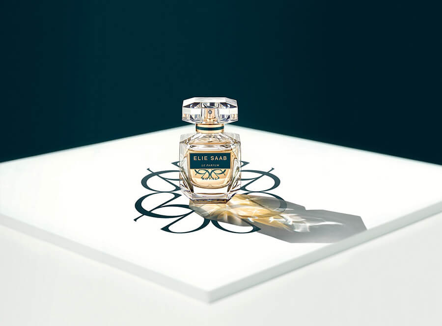 ELIE SAAB Le Parfum Royal dans son flacon iconique