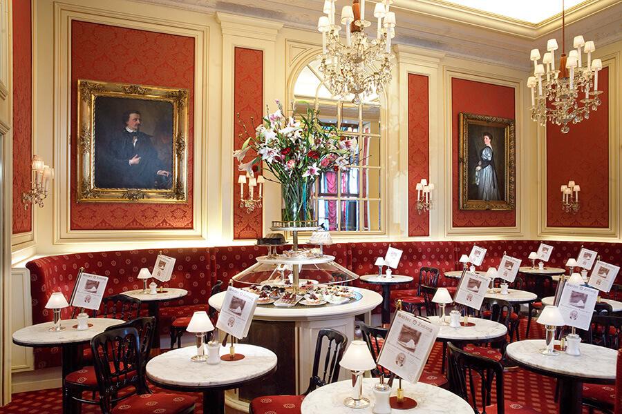 Hotel Sacher Vienne(c)Cafe Sacher