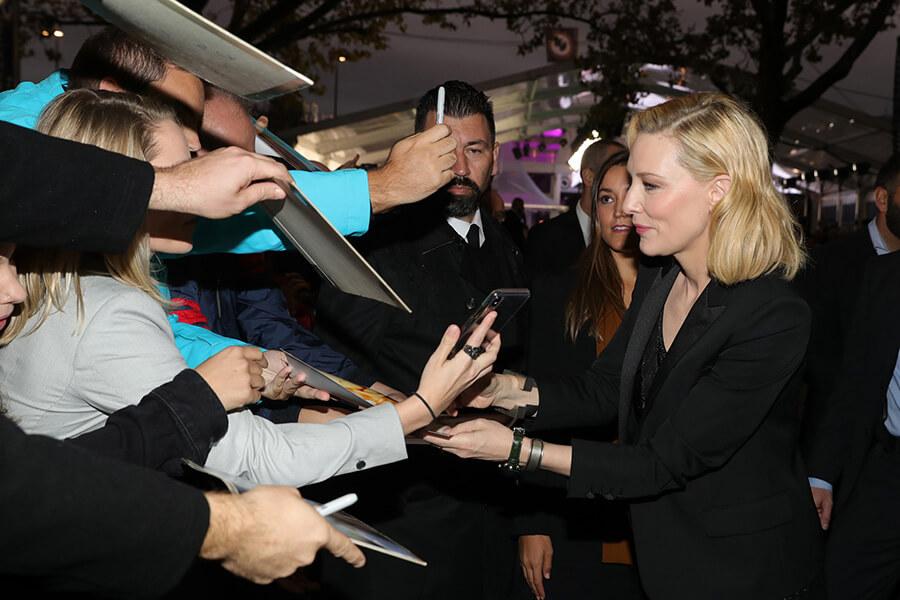 Arrivée de Cate Blanchett à l' Award Night