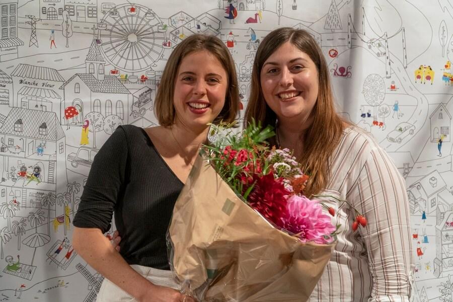 Fanny Blanchet et Garance Vallier laurates Prix du Public