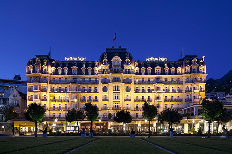 Fairmont Le Montreux Palace façade principale de l'Hôtel