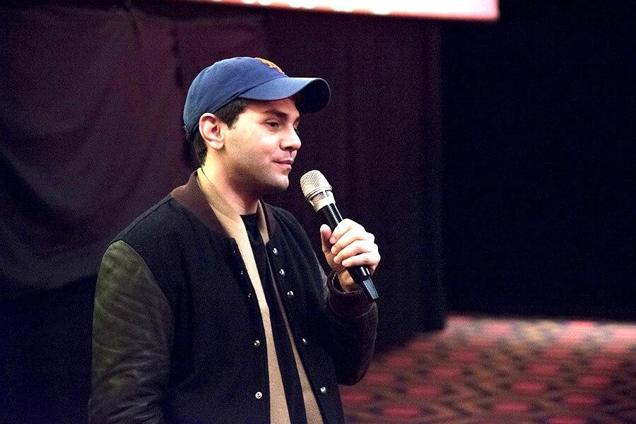 Xavier Dolan l'acteur producteur canadien lors de sa Master Class