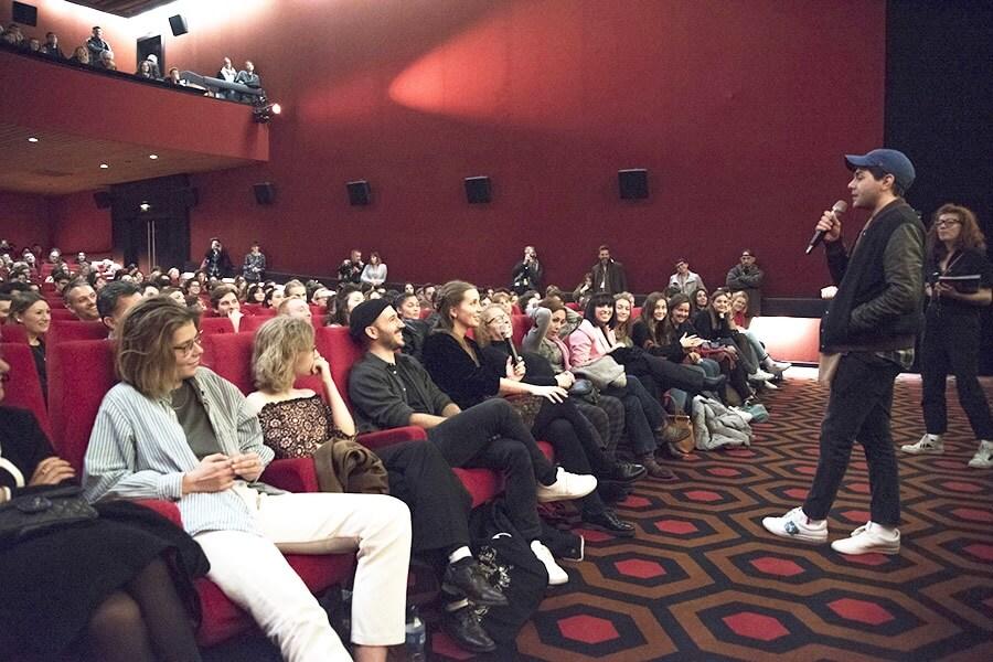Une salle comble et fascinée Master Class avec Xavier Dolan