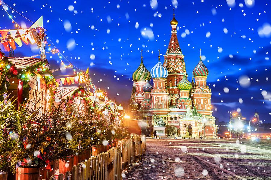 Invitée d'honneur Montreux Noel 2019 La flamboyante Russie