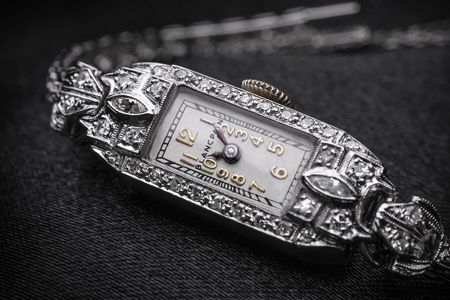Montre cocktail Blancpain ayant appartenu à Marilyn Monroe