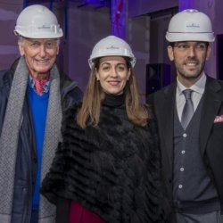 Bernard Erbeia, Sophie Pappalardo, Christophe Aldunate (Crest Hospitality)
