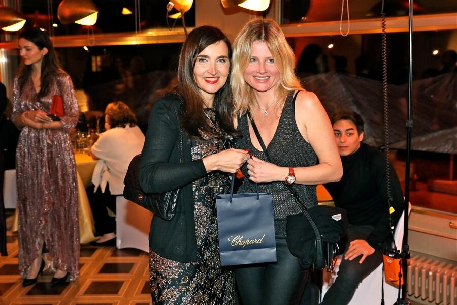 Gabriella O'Hanna Dir. Boutique Chopard et Julia Tarassova