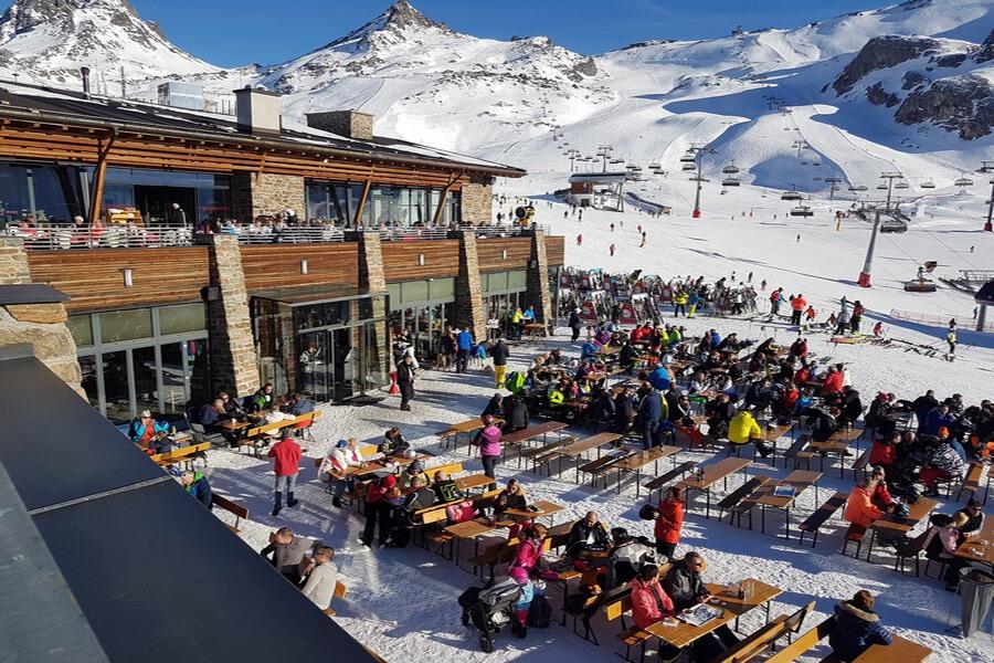Mountain VIP Club d'Ischgl restaurant de l'Alpenhaus sur l'Idalp (c) GAD