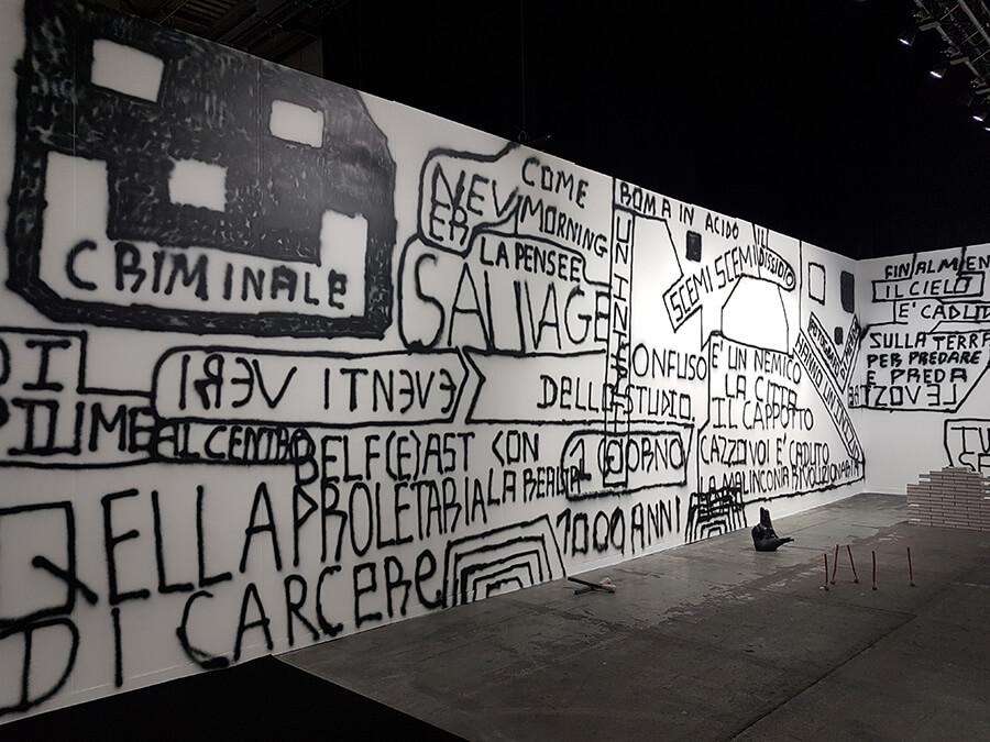 De l'intérieur vers l'extérieur l'expression artistique prend les murs d'assaut