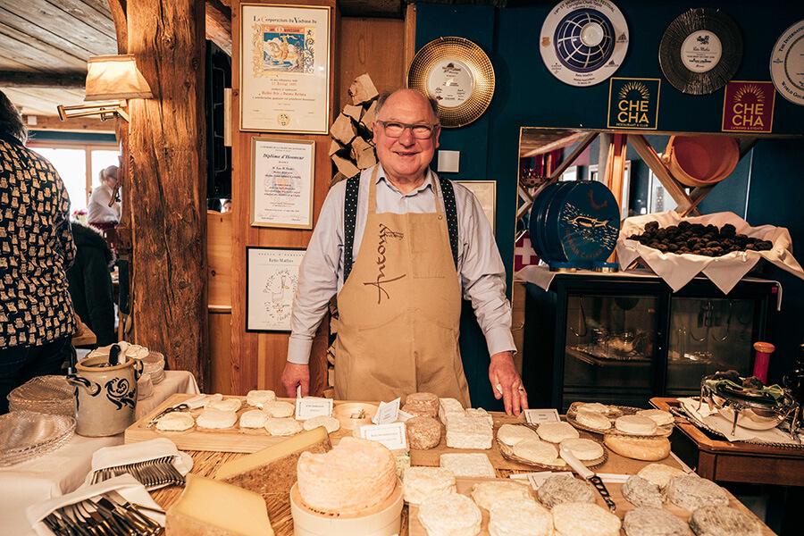 Mountain Brunch le fromage à l'honneur