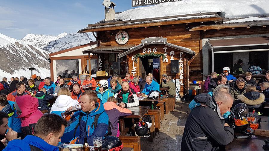 A l'heure du déjeuner petit arrêt aux sommets (c) GAD
