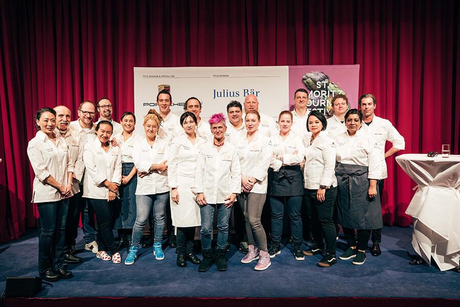 Kitchen Party les dix cheffes invitées stars de l'édition 2020 et les chefs résidents des hôtels partenaires