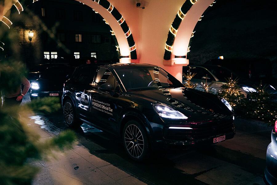 Gourmet-Safari en Porsche sponsor principal du Festival et sponsor transport 2020