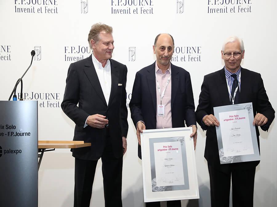Prix Solo Artgenève F.P.Journe-Galerie Richard Saltoun-Galerie Jean Brolly