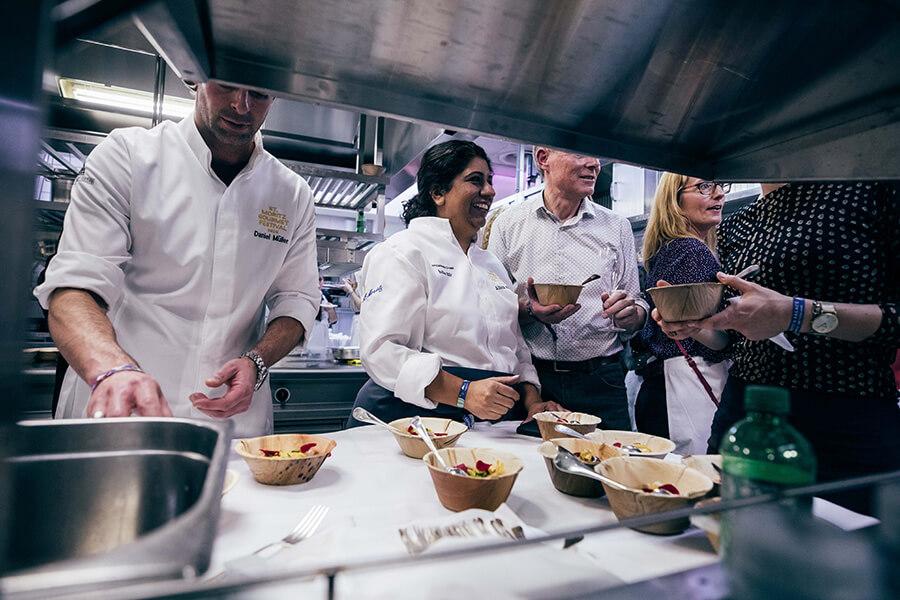 Asma en cuisine Kitchen-Party 2020 dégustation dans le saint des saints
